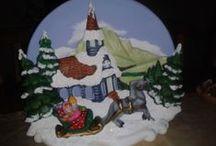 Mis trabajos en ceramica.