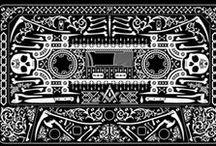 cassette ink inspiration