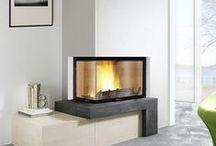 Cheminées Contemporaines / Découvrez toutes nos cheminées contemporaines sur notre site : http://www.turbofonte.com/cheminees/cheminee-contemporaine
