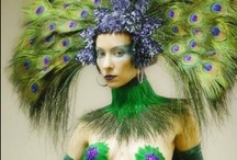 Fantastic Costumes / Costumes to make, exciting new hair colors and general frippery.