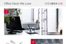 the office / Office decor, design and furniture inspiration