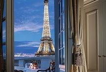 Room with a view / Habitación de hotel con vistas