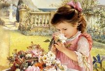 Art--Children's paintings / by Mickey Betz