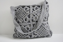 Chroche, knitting bags and purses