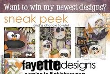 Drawings & Freebies from Fayette Designs