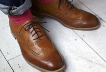 Gentlemen's Brogues / by A Farley Country Attire