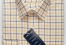 Laine Taylor Shirts - Country Check 100% Cotton / Available to buy online at http://www.afarleycountryattire.co.uk  Established in 1996, Laine Taylor is a family run UK business, their classic style shirts make them one of A Farley Country Attire's most popular shirt brands. Customers love the quality and attention to detail of their pure cotton checked shirts. / by A Farley Country Attire