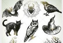 Autumn, Fall & Halloween Design Illustrations & Icons