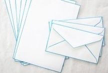 Mail. / Handwritten Letters shouldn't go out of style. / by Stephanie Terrazas