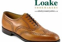 Loake Shoes - 1880 Premium Collection / Available to buy online at http://www.afarleycountryattire.co.uk  No detail is compromised in this premium range of footwear, made using techniques that can be traced back to when loake first started. The very best hand-burnished calf leather, as well as leather-built heels, leather linings and insoles are used. / by A. Farley Country Attire & Exclusive Menswear