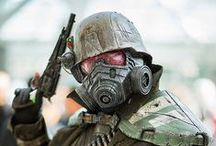 Military look and Dieselpunk