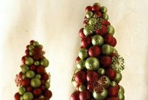 Making Christmas trees  & decorating  trees / by Mickey Betz
