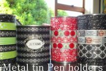 Christmas--Tin cans / by Mickey Betz