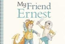 My Friend Ernest / Available Jan 2016. I've pinned a few activities that connect with themes or images from the story.