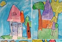 Collage and paper / Collage and paper craft ideas for kids