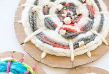 Weaving / Weaving craft ideas for children