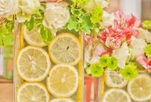 Lemonade Time / Need fresh and tasty ideas for lemonade party or summer lemonade stand?