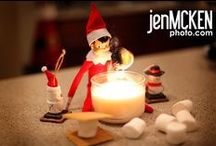 Elf on the Shelf / Fun Elf on the Shelf Ideas!