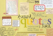 Scrapbooking I Would Like To Try / by Mary Palermo