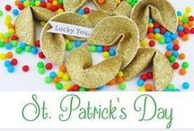 St. Patrick's Day / Celebrating all things Irish!  #StPatricksDay