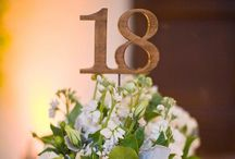 Table Numbers/Names