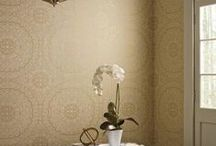 Candice Olson Wallcovering / Candice Olson renowned designer has created gorgeous wallpaper to complement every room and space.