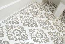 Paint Your Floor / Painted Floor Designs