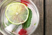 Water Recipes / A delicious collection of infused water recipes.