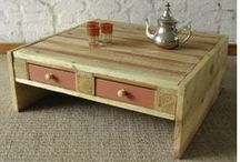 Rustic Furniture / Rustic wood indoor & outdoor furniture made from 100% recycled wood products