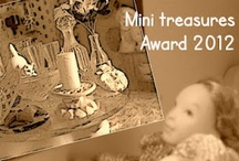 #MTW Awards 2013 and 2012 / MTW Awards are given once a year to 25 mini sites bringing most traffic to Mini treasures wiki. See more http://minitreasures.blogspot.com/2012/04/mtw-award-2012.html