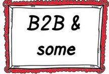 B2B + social media / B2B-yritykset ja sosiaalinen media   - How B2B organizations are using social media?
