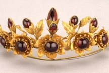 Tiaras - Garnets and Spinels