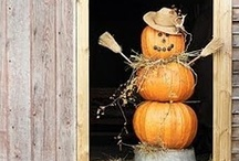 FALL-HALLOWEEN & THANKSGIVING  / by Donna Groves