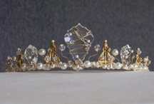 Tiaras - Paste etc (Modern) / Modern tiaras made from paste, rhinestones, crystals, glass etc. The few bridal tiaras I've collected are mostly on the Crowns - Bridal board  / by Starry Diadem