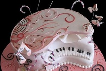 piano cake / by Dina EP