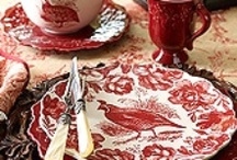 China, Porcelain, Silver and Glass / All the beautiful china and dinnerware I love. / by Leslie Andren