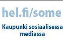 City + social media = Kuntasome eli sosiaalista mediaa kunnissa / Social media used by cities - Suomalaisia kuntia sosiaalisessa mediassa, eli kuinka kunnat käyttävät somea