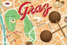 Visit Graz / I stayed 2 months in Graz in Nov & Dec 2012. Here are some of my favorite things and places. Graz, Austria - Graz, Itävallan 2. suurin kaupunki tuli minulle tutuksi loppuvuonna 2012, kun olin siellä tutkijavaihdossa.