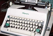olympia typewriters / my father was an olympia typewriterman.