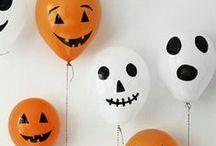 Halloween party ஓ / Voici quelques inspirations pour Halloween !