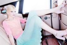 Pastel color / Fashion photography