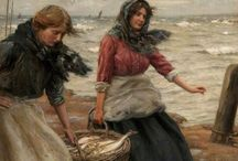 Silver Darlings / 'Silver Darlings'  was the name given to herrings by the fishergirls of Aberdeen, Scotland in the 19th century