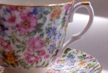 CHINA, TEA POTS, GLASS /  CHINA, TEA POTS, GLASS / by Linda Guy Phillips