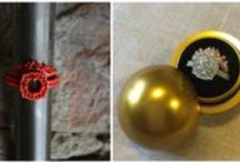 Before and After / 3D printed prototypes and the jewelry they become...