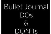 Bullet journal - bujo - bujoilu / ideas for bullet journaling