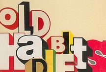 Typography / by kitschy digitals