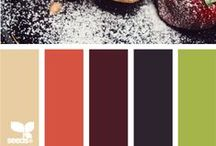 color combos / Color inspiration for home decorating, design and more.