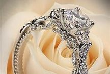 Wedding Dresses and Rings