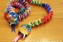 Teaching - Holidays / Chinese New Year Dragon Craft!
