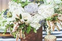 Wedding Florals / Wedding flowers are much more then what goes into your wedding bouquet. Get creative, with fun colors and textures to create your dream wedding flowers.